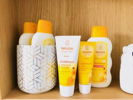 produits cosmétiques bio et naturels pour bébés