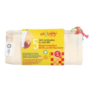 sac réutilisable en coton bio